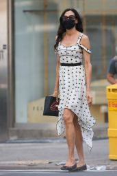 Famke Janssen - Out in NYC 09/15/2020