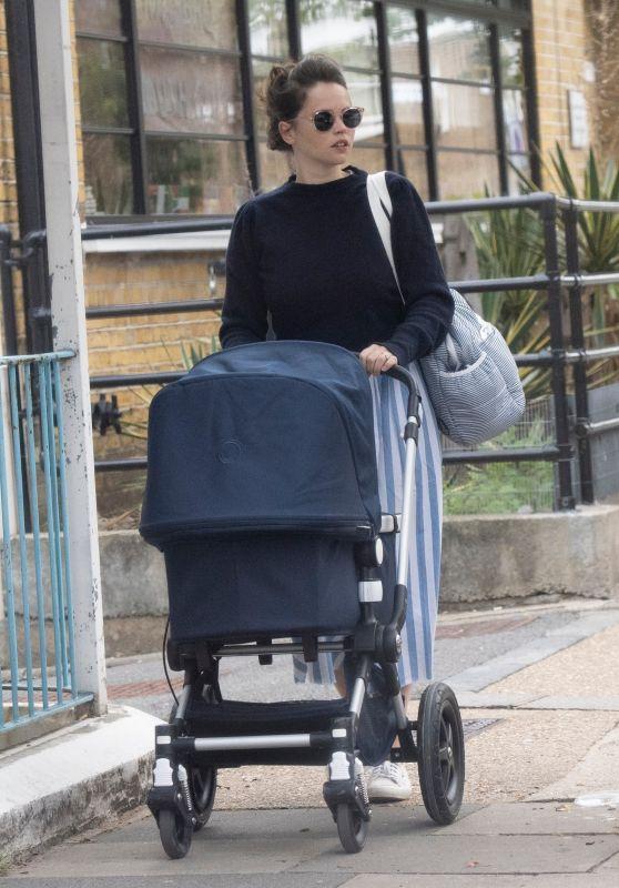 Felicity Jones - Out in London 09/14/2020