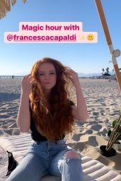 Francesca Capaldi - Social Media Photos 09/02/2020