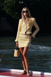 Frida Aasen – Arriving at Hotel Excelsior in Venice 09/05/2020