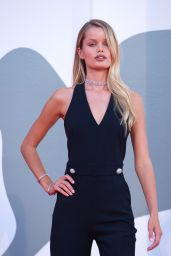 "Frida Aasen – ""The World To Come"" Red Carpet at The 77th Venice Film Festival"