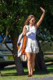 Gabriella Brooks in Tank Top and Mini Skirt - Byron Bay 08/31/2020