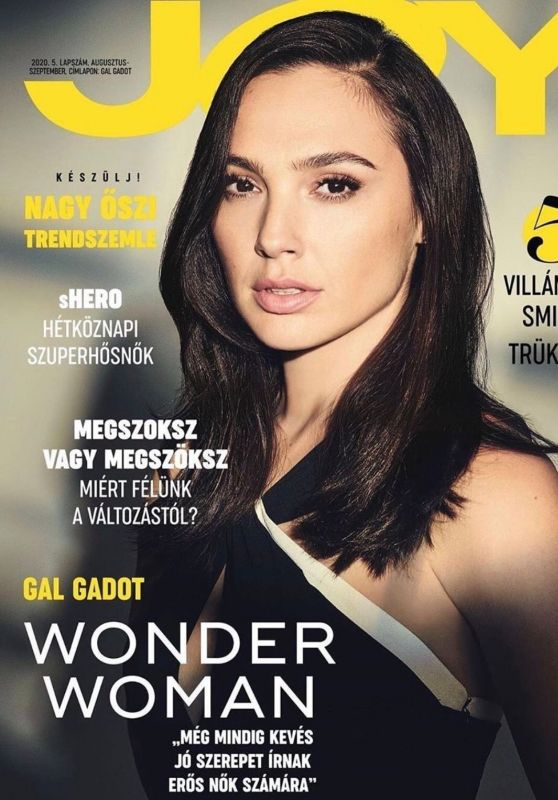 Gal Gadot - Joy  Magazine Hungary August/September 2020 Cover