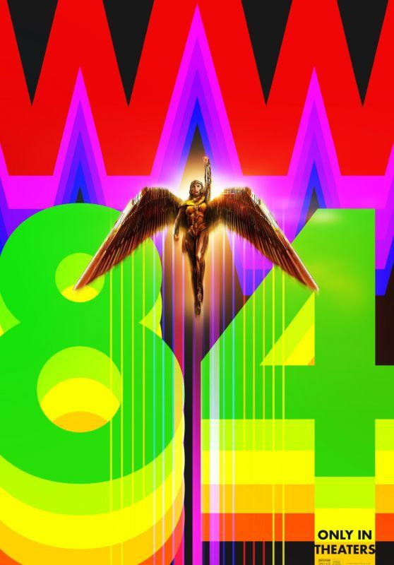 """Gal Gadot – """"Wonder Woman 1984"""" Promo Posters (+2)"""