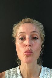 Gillian Anderson - Selfies For Her 52th Birthday