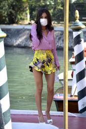 Giuia De Lelllis – Arriving at Hotel Excelsior in Venice 09/05/2020
