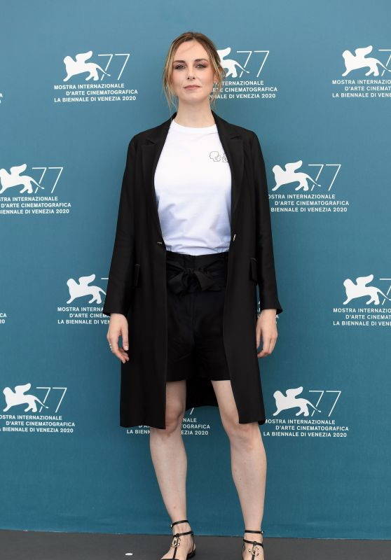 "Giulia Petrini - ""Run Hide Fight"" Photocall at Venice Film Festival"