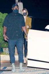 Hailey Bieber and Justin Bieber - Nobu in Malibu 09/28/2020