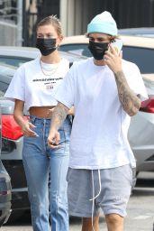 Hailey Bieber and Justin Bieber - Santa Monica 09/13/2020