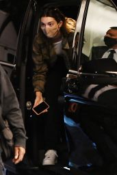 Hailey Bieber and Kendall Jenner - Arriving for Milan Fashion Week 09/25/2020