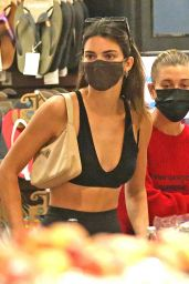 Hailey Bieber and Kendall Jenner - Grocery Shopping in LA 09/07/2020