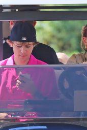 Hailey Bieber, Justin Bieber and Kendall Jenner - Coeur d