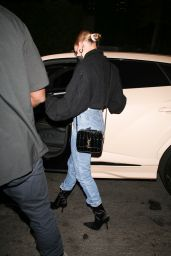 Hailey Bieber  - Out For Dinner in Los Angeles 09/21/2020