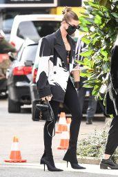 Hailey Bieber - Out in Milan 09/26/2020