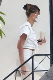 Hailey Bieber - Out in West Hollywood 09/28/2020