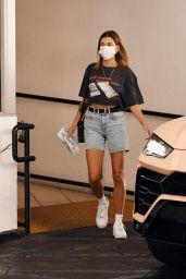 Hailey Bieber Street Style - Los Angeles 09/24/2020