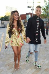 Holly Hagan and Zahida Allen - Out in Manchester 09/06/2020