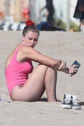Ireland Baldwin - Beach in Malibu 08/30/2020