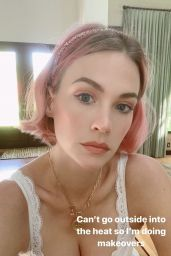 January Jones – Social Media Photos 09/21/2020