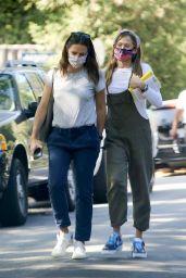 Jennifer Garner With Her Daughter - LA 09/22/2020