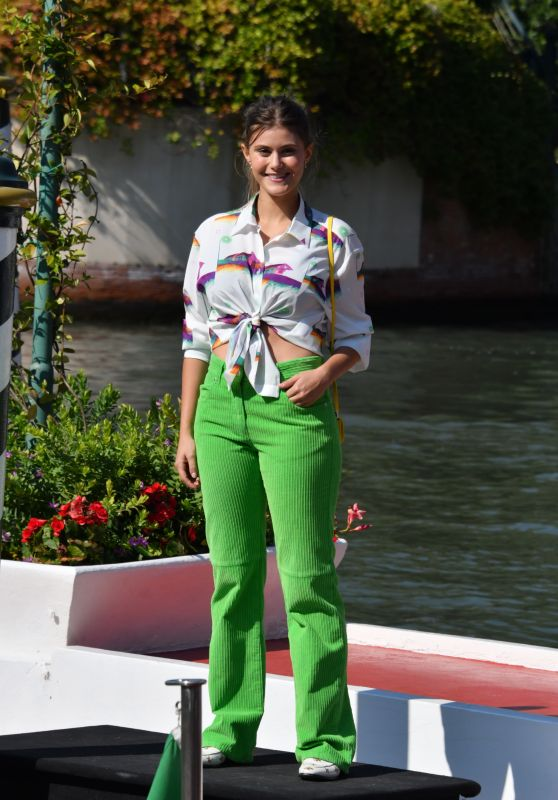 Jenny De Nucci – Arriving at Hotel Excelsior in Venice 09/05/2020