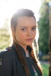 "Jessica Sutton – ""Motherland: Fort Salem"" Promo Shoot (part II)"