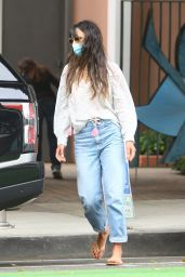 Jordana Brewster - Out in Santa Monica 09/21/2020