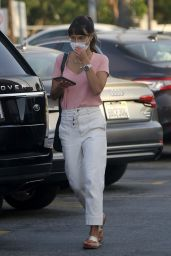 Jordana Brewster - Shopping at Grocery Store in LA 09/28/2020