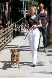 Josie Canseco - Walking Her Dog in LA 09/01/2020