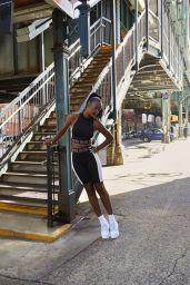 Justine Skye - H&M Photoshoot 2020
