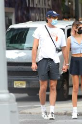 Kaia Gerber and Boyfriend Jacob Elordi in NYC 09/11/2020
