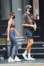 Kaia Gerber and Jacob Elordi - Heading to the Gym in NY 09/09/2020