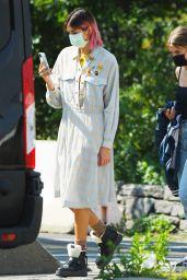 Kaia Gerber Looks Stylish - Photoshoot in NY 09/08/2020