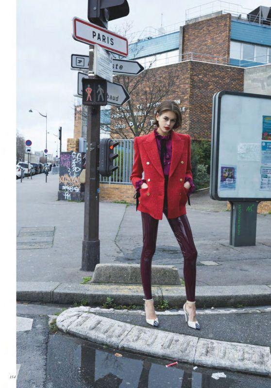 Kaia Gerber - Vogue UK October 2020