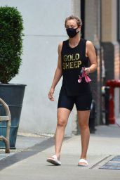 Kaley Cuoco in Athletic Wear - New York 09/15/2020