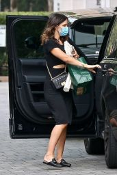 Katharine McPhee - Goes to a Meeting at a Hotel in LA 09/13/2020