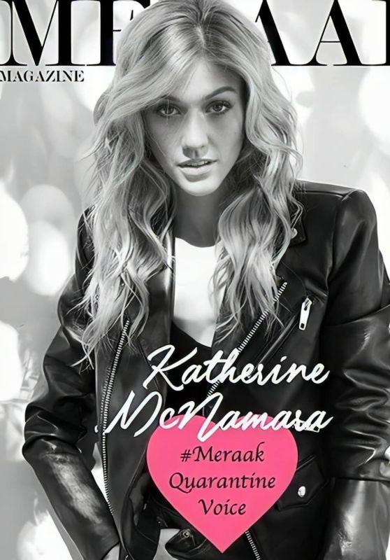 Katherine McNamara - Meraak Magazine 2020 Cover