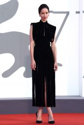 "Katherine Waterston – ""The World To Come"" Red Carpet at The 77th Venice Film Festival"