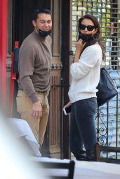 Katie Holmes and Emilio Vitolo Jr. - NYC 09/18/2020