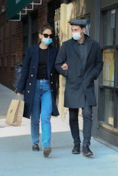 Katie Holmes and Emilio Vitolo Sighting in New York 09/22/2020