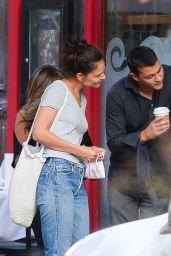 Katie Holmes With Her New Boyfriend - NYC 09/08/2020