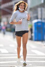 Kelly Bensimon - Jogging Around NYC 09/15/2020