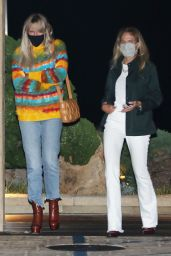 Laeticia Hallyday Night Out Style - Nobu in LA 09/24/2020