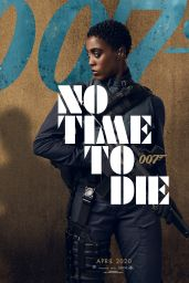 "Lashana Lynch – ""No Time to Die"" Poster and Photos"