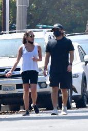 Lea Michele and Zandy Reich - Power Walk in LA 09/21/2020