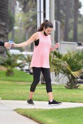 Lea Michele - Out in Santa Monica 09/08/2020