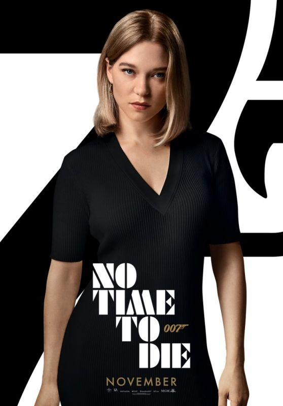 """Léa Seydoux – """"No Time to Die"""" Posters"""
