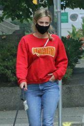 Lili Reinhart - Walking Her Dog in Vancouver 09/13/2020