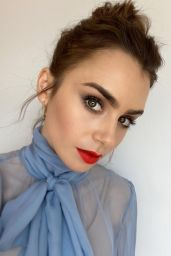 Lily Collins - Social Media Photos 09/25/2020