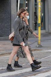 Lisa Vicari Street Style – Milan 09/23/2020